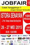 26-27 Mei 2015 at stora Senayan Pameran Bursa Lowongan Kerja